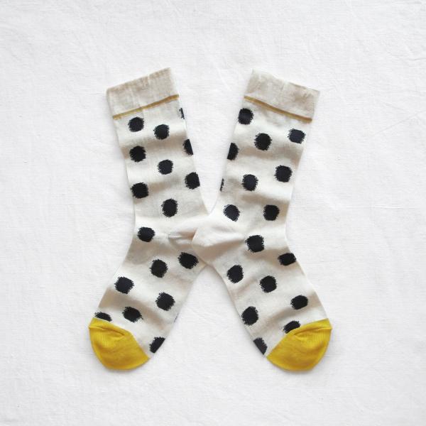 socks-polka-dots-white