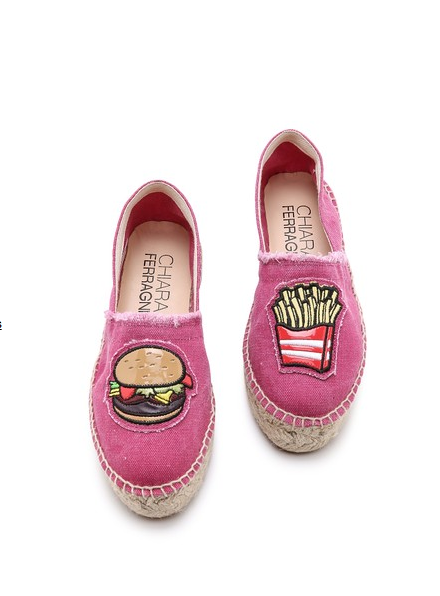 Fries & burger - Chiara Ferragni