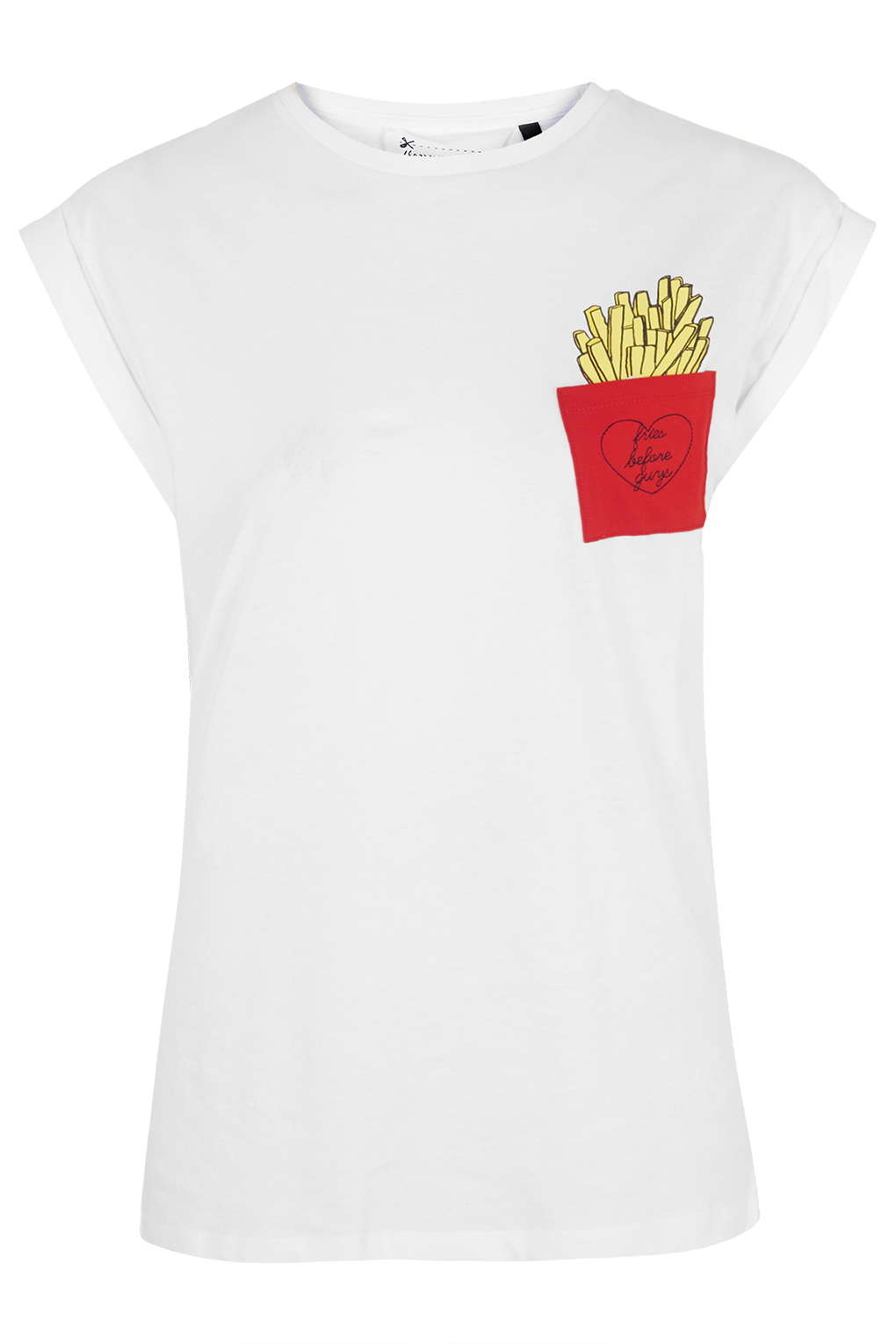 fries tee - topshop