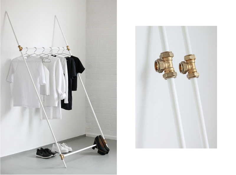 love aesthetics diy leaning rack 00