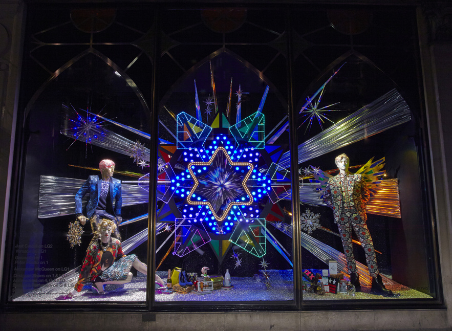 xmas windows- Harvey Nichols