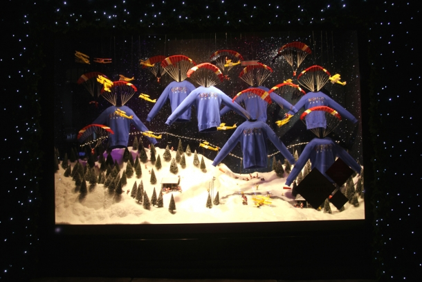 xmas windows-selfridges