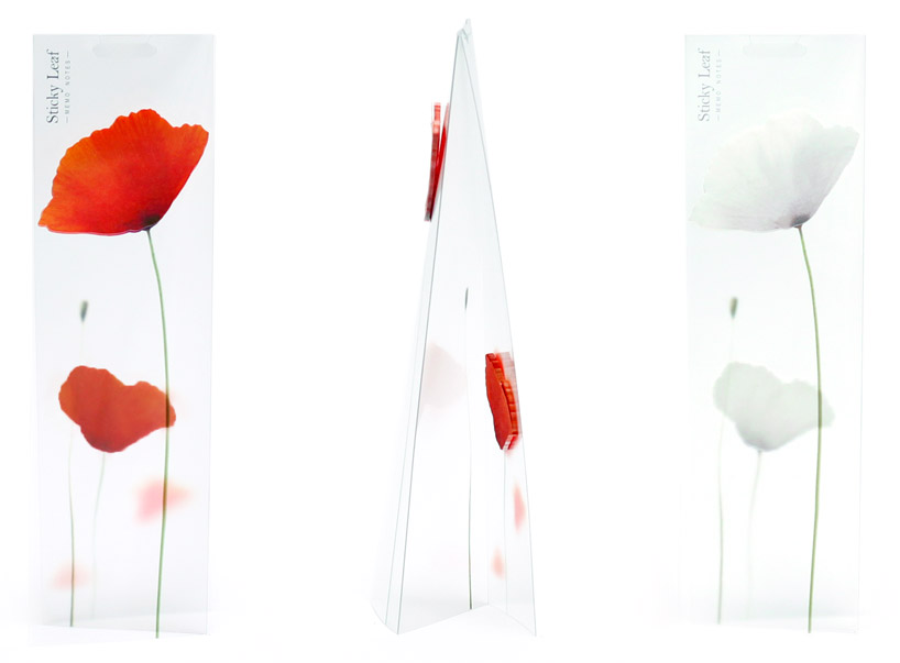 appree-poppy-leaf-sticky-note-designboom-shop05