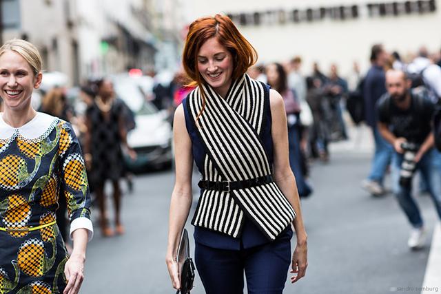 Paris Fashionweek day 6, outside Giambattista Valli