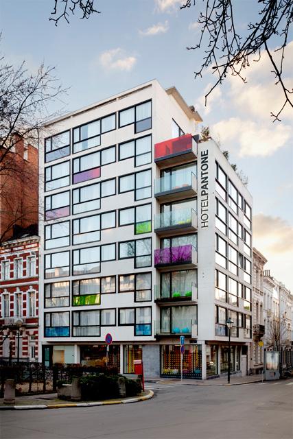 Pantone Hotel in Brussels10