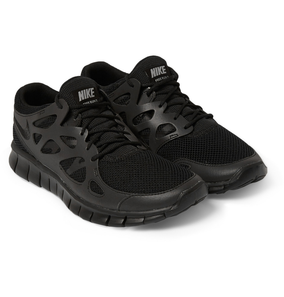 Nike Free Run 2 Leather & Mesh