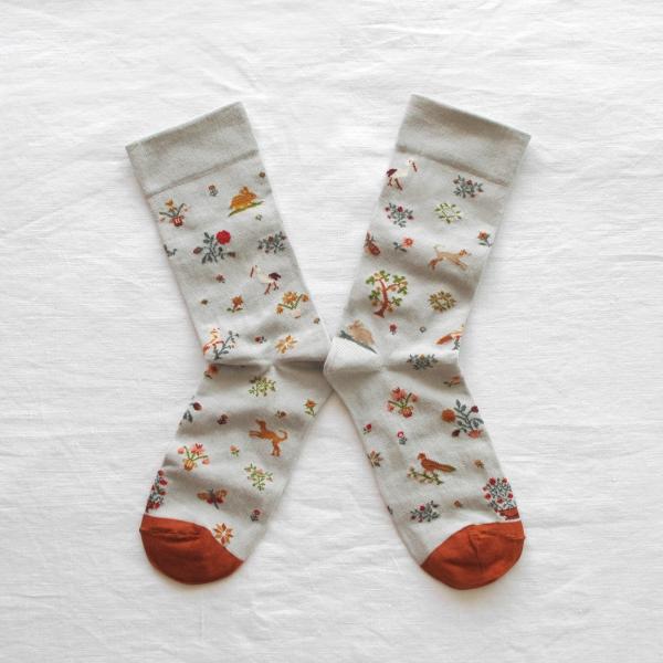 socks-flowers-animals