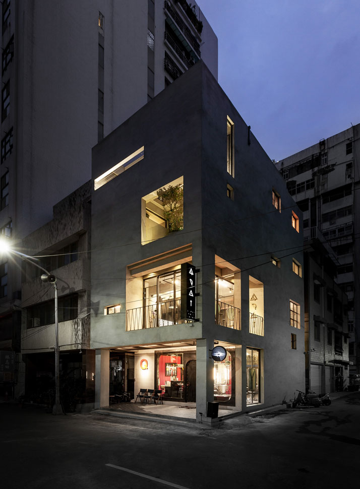 8_Q_Pot_Hair_Salon_and_Residence_Kaohsiung_Taiwan_yatzer